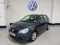 USED 2008 08 VOLKSWAGEN POLO 1.2 MATCH 5d 59 BHP 3 Previous Owners,Service History,Alloys/Radio/Cd,Fogs