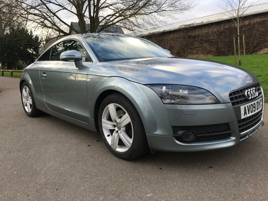 USED 2009 09 AUDI TT 2.0L TFSI 3d 200 BHP Serviced Every Year (10 Stamps In Total)
