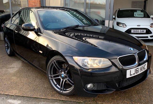 2011 61 BMW 3 SERIES 2.0 320D M SPORT 2d 181 BHP