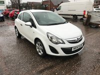 USED 2014 14 VAUXHALL CORSA 1.0 STING ECOFLEX 3d 64 BHP 1 OWNER-£30 PER YEAR ROAD TAX-ALLOY WHEELS-1.0 PETROL ENGINE