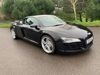 USED 2010 10 AUDI R8 4.2 QUATTRO 2d 420 BHP LOW MILES, MANUAL GEARBOX, HEATED LEATHER, B&O AUDIO, READY TO GO!!!!