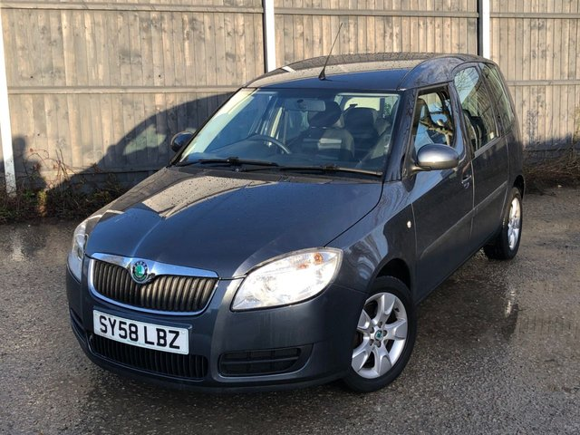 USED 2008 58 SKODA ROOMSTER 1.4 2 TDI 5d 79 BHP FULL DEALER FACILITIES. WE LIKE TO SAY YES! FINANCE ME TODAY-DELIVERY POSSIBLE
