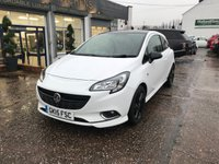 "USED 2015 15 VAUXHALL CORSA 1.2 LIMITED EDITION 3d 69 BHP FULL SERVICE HISTORY-17""ALLOYS-1 FORMER KEEPER-BLUETOOTH-DAB RADIO"