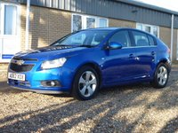 USED 2012 62 CHEVROLET CRUZE 2.0 LTZ VCDI 5d 163 BHP www.suffolkcarcentre.co.uk - Located at Reydon