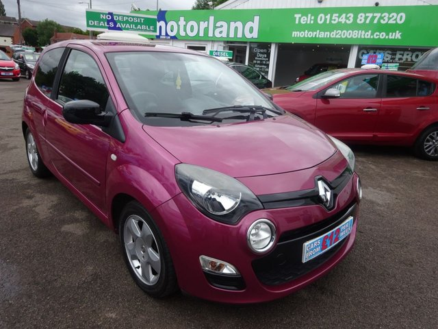 USED 2013 63 RENAULT TWINGO 1.1 DYNAMIQUE 3d 75 BHP **JUST ARRIVED....01543 877320...NO DEPOSIT DEALS