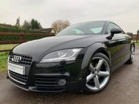 USED 2010 59 AUDI TT 2.0 TDI QUATTRO S LINE 3d 170 BHP XENON PLUS, CRUISE CONTROL BLUETOOTH, FULL AUDI HISTORY ,CAMBELT+WATER PUMP REPLACED