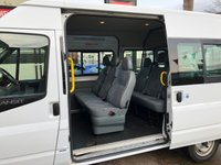 USED 2010 60 FORD TRANSIT MWB SHUTTLEBUS 2.2 TDCi MEDIUM ROOF 9 SEATER, 1 PREVIOUS OWNER HAS JUST BEEN SERVICED WITH FULL MOT
