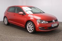 USED 2015 65 VOLKSWAGEN GOLF 1.6 GT TDI BLUEMOTION TECHNOLOGY DSG 5dr AUTO 109 BHP SAT NAV FSH 1 OWNER FULL SERVICE HISTORY + SATELLITE NAVIGATION + PARKING SENSOR + BLUETOOTH + CRUISE CONTROL + CLIMATE CONTROL + MULTI FUNCTION WHEEL + PRIVACY GLASS + DAB RADIO + ELECTRIC WINDOWS + ELECTRIC/HEATED DOOR MIRRORS + 17 INCH ALLOY WHEELS