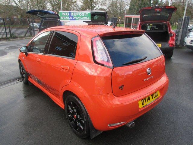 USED 2014 14 FIAT PUNTO 1.4 GBT 5d 77 BHP GLOSS BLACK ALLOYS..LTD EDITION