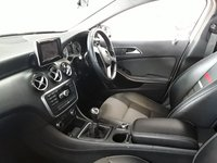 USED 2014 63 MERCEDES-BENZ A CLASS 1.5 A180 CDI BLUEEFFICIENCY SE 5DR 109 BHP SAT NAV SERVICE HISTORY + HALF LEATHER SEATS + SATELLITE NAVIGATION + BLUETOOTH + MULTI FUNCTION WHEEL + AIR CONDITIONING + ELECTRIC WINDOWS + ELECTRIC MIRRORS + 16 INCH ALLOY WHEELS