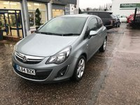 USED 2015 64 VAUXHALL CORSA 1.2 SXI AC 3d 83 BHP 1 FORMER KEEPER-ALLOY WHEELS-SERVICE HISTORY-1.2 PETROL ENGINE