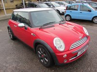 USED 2005 05 MINI HATCH COOPER 1.6 COOPER 3d 114 BHP