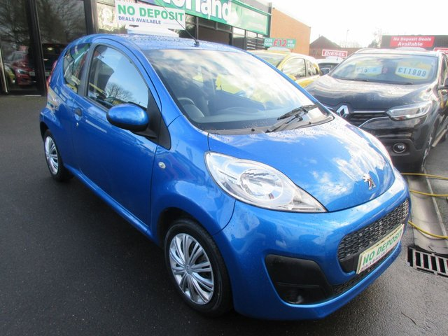 USED 2013 63 PEUGEOT 107 1.0 ACCESS 3d 68 BHP 1 OWNER VEHICLE..LOW TAX AND LOW INSURANCE