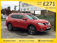 USED 2016 65 NISSAN X-TRAIL 1.6 DCI N-TEC XTRONIC 5d 130 BHP 360° CAM, SAT NAV, SENSORS, ECO MODE, AUTO HEADLIGHTS, BLUETOOTH AUX AND USB MEDIA CONNECTIONS & MORE!