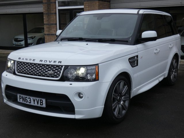 2013 63 LAND ROVER RANGE ROVER SPORT 3.0 SDV6 AUTOBIOGRAPHY SPORT 5d 255 BHP