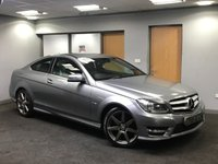 USED 2012 61 MERCEDES-BENZ C CLASS 2.1 C220 CDI BLUEEFFICIENCY AMG SPORT 2d 170 BHP