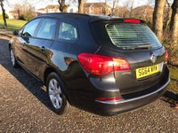 USED 2014 64 VAUXHALL ASTRA 1.6 CDTi ecoFLEX Design Sport Tourer (s/s) 5dr Free Tax ! 1 Owner ! F/D/S/H !
