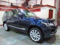 2014 LAND ROVER RANGE ROVER 4.4 SD V8 Vogue Auto 4WD 5dr £35000.00