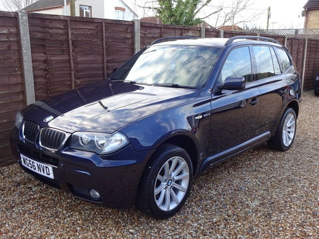 USED 2006 56 BMW X3 2.0 D M SPORT 5d 148 BHP *LOOK AT THIS GREAT WORKHORSE OR TOY!*