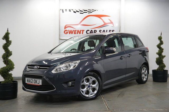 USED 2012 12 FORD GRAND C-MAX 1.6 ZETEC TDCI 5d 114 BHP 7 SEATER VERSION, GOOD EXAMPLE