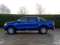 USED 2013 13 FORD RANGER 3.2 LIMITED 4X4 DCB TDCI 4d 197 BHP 59000 miles service history