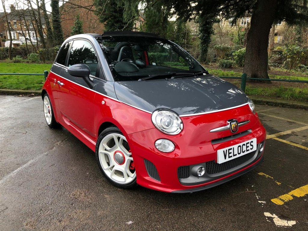 USED 2012 62 ABARTH 595 1.4 C TURISMO 3d 160 BHP NEARLY £3000 OF EXTRAS !!