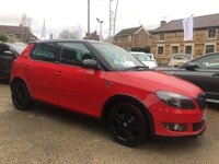 USED 2013 62 SKODA FABIA 1.2 MONTE CARLO TSI 5d 105 BHP FULL SKODA SERVICE HISTORY AND A LOVELY EXAMPLE THROUGHOUT
