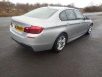 USED 2016 66 BMW 5 SERIES 2.0 520D M SPORT 4d 188 BHP AUTO SAT NAV LEATHER