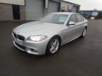 2016 BMW 5 SERIES 2.0 520D M SPORT 4d 188 BHP AUTO SAT NAV LEATHER £16991.00