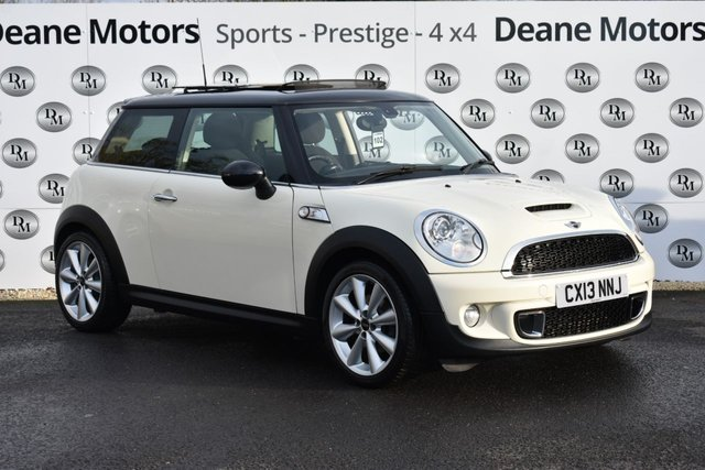 2013 13 MINI HATCH COOPER 2.0 COOPER SD 3d 141 BHP CHILLI PACK PANROOF