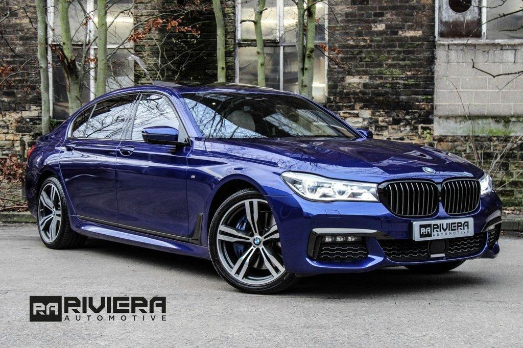 USED 2018 18 BMW 7 SERIES 0.0 740LD XDRIVE M SPORT 4d 315 BHP