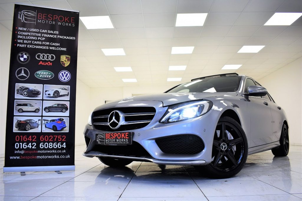 USED 2014 64 MERCEDES-BENZ C CLASS C250 2.1 BLUETEC AMG LINE PREMIUM PLUS