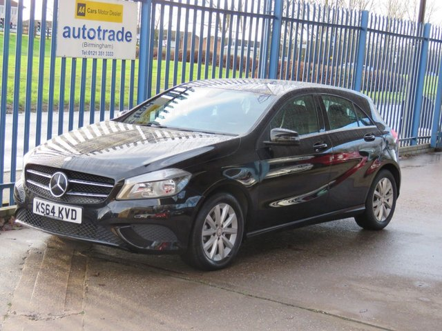 USED 2015 64 MERCEDES-BENZ A CLASS 1.5 A180 CDI BLUEEFFICIENCY SE 5dr Auto Sat nav 1/2 Leather Cruise Finance arranged Part exchange available Open 7 days