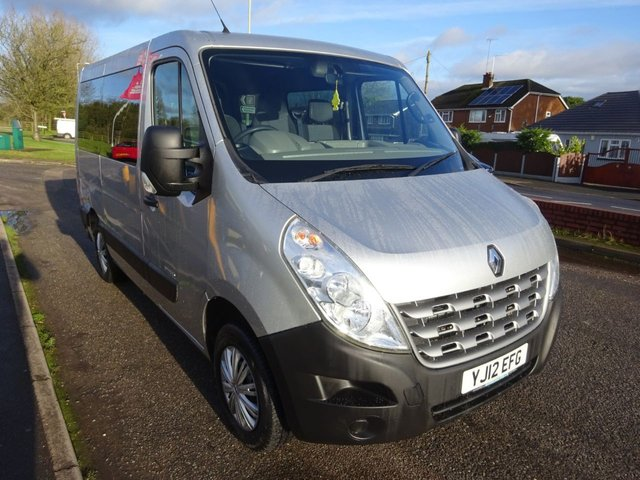 USED 2012 12 RENAULT MASTER 2.3 SL28 DCI L/R 100 BHP **TAIL LIFT WITH FOLD OUT WHEELCHAIR RAMP ** SERVICE HISTORY **01543 877320**JUST ARRIVED**NO DEPOSIT FINANCE