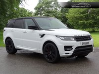 2015 LAND ROVER RANGE ROVER SPORT 5.0 V8 AUTOBIOGRAPHY DYNAMIC 5d 510 BHP £41000.00