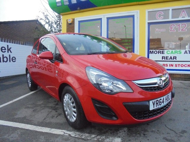 USED 2014 64 VAUXHALL CORSA 1.0 S ECOFLEX 3d 64 BHP ** 01922 494874 ** JUST ARRIVED **