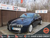USED 2007 57 ALFA ROMEO 159 2.4 JTDM LUSSO QTRONIC 4d 196 BHP GOOD AND BAD CREDIT SPECIALISTS! APPLY TODAY!
