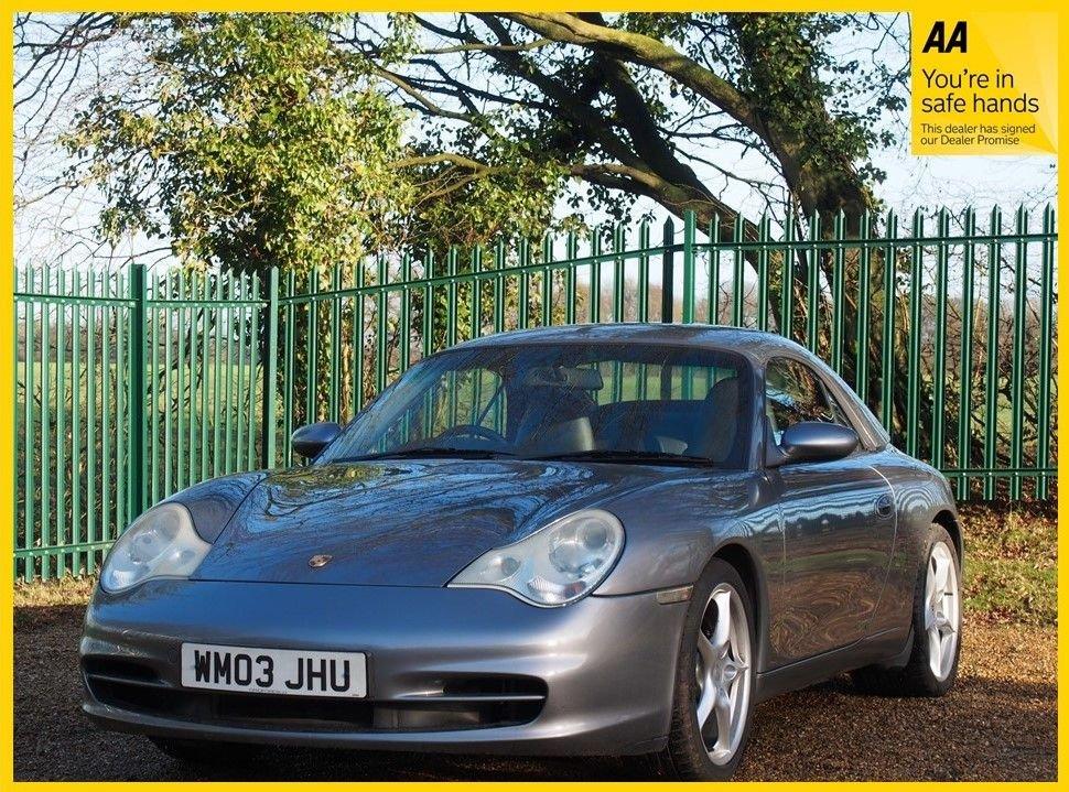 USED 2003 03 PORSCHE 911 3.6 CARRERA 2 TIPTRONIC S 2d 316 BHP Porsche Sports Exhaust