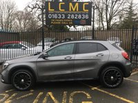 USED 2017 17 MERCEDES-BENZ GLA-CLASS 2.1 GLA 220 D 4MATIC AMG LINE PREMIUM 5d 174 BHP STUNNING MOUNTAIN GREY METALLIC WITH FULL BLACK LEATHER WITH RED STITCHING. TWO OWNERS FROM NEW. COMAND ONLINE (SAT NAV). PARKING PILOT. STORAGE PACKAGE. AMG EXCLUSIVE PACKAGE. NIGHT PACKAGE. PREMIUM PACKAGE. GLOSS BLACK AMG ALLOYS. REAR CAMERA. MERCEDES SERVICE HISTORY. HEATED SEATS. PLEASE GOTO www.lowcostmotorcompany.co.uk TO VIEW OVER 120 CARS IN STOCK