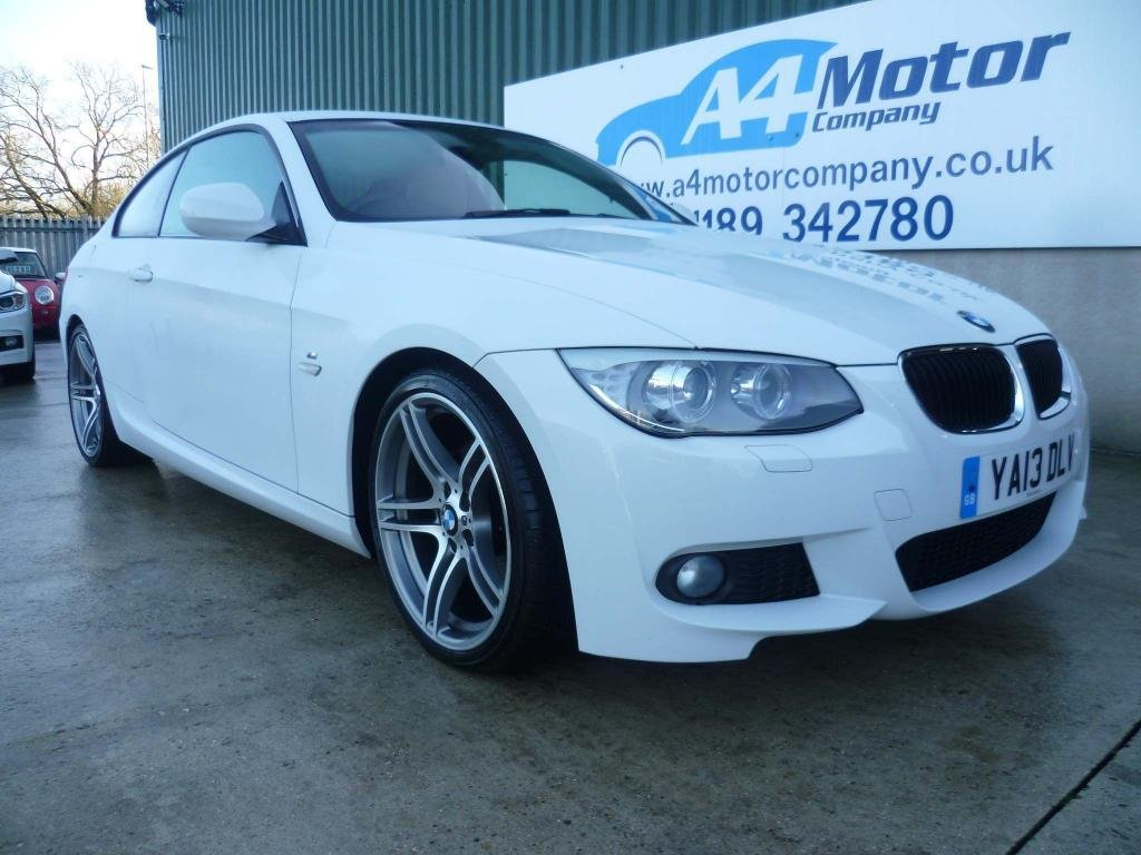 USED 2013 13 BMW 3 SERIES 2.0 320d M Sport 2dr FULL BMW SERVICE HISTORY, AUTO