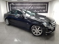 USED 2012 12 MERCEDES-BENZ C CLASS 2.1 C220 CDI BLUEEFFICIENCY AMG SPORT 2d 170 BHP