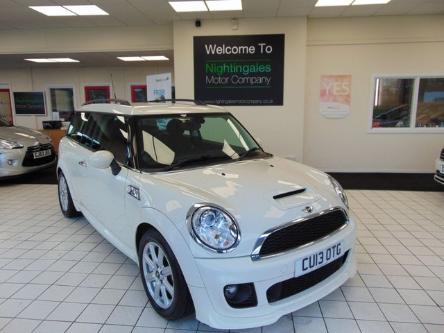 USED 2013 13 MINI CLUBMAN 2.0 COOPER SD 5d 141 BHP DIGITAL SERVICE HISTORY + LONG MOT + CHILLI PACK + ALLOYS + CRUISE CONTROL + ELECTRIC WINDOWS + RADIO/CD/MP3 + BI=XENON HEADLIGHTS + AUTO LIGHTS + AUTO WIPERS + LOW COST ROAD TAX + ONLY 1 FORMER KEEPER