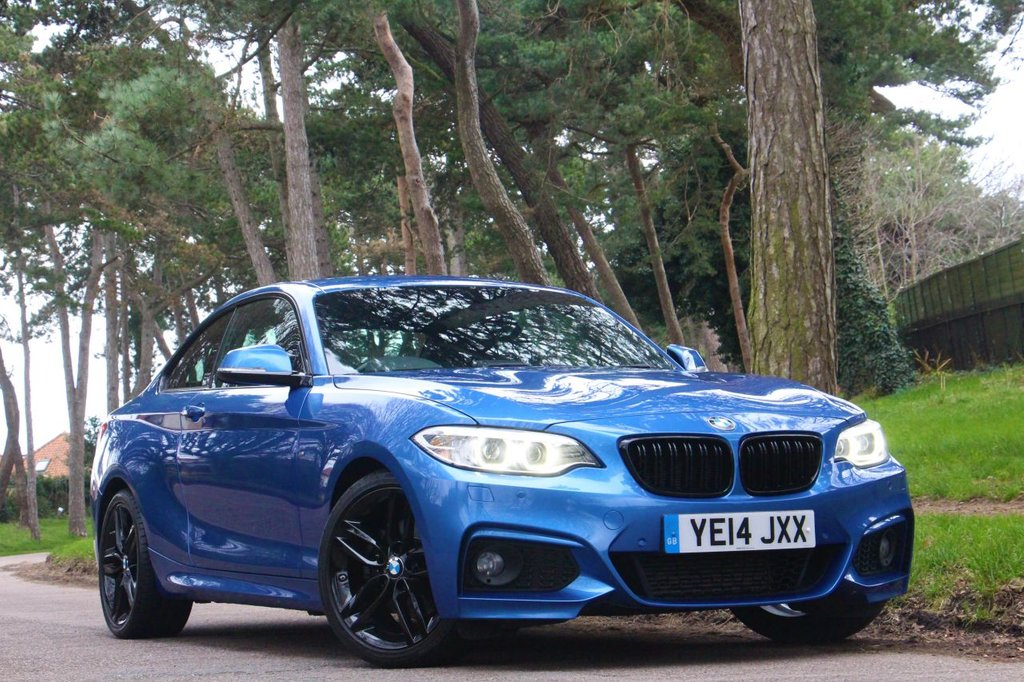 USED 2014 14 BMW 2 SERIES 2.0 220I M SPORT 2d 184 BHP
