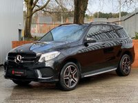 USED 2018 68 MERCEDES-BENZ GLE-CLASS 3.0 GLE350d V6 AMG Night Edition (Premium Plus) G-Tronic 4MATIC (s/s) 5dr HARMON KARDON-PAN ROOF-PREM+