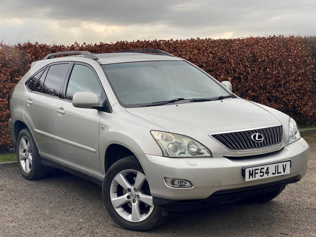 USED 2004 54 LEXUS RX 3.0 300 SE-L 5d GAS CONVERTED * FULL HEATED LEATHER INTERIOR *