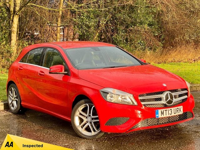 USED 2013 13 MERCEDES-BENZ A CLASS 1.5 A180 CDI BLUEEFFICIENCY SPORT 5d 109 BHP FANTASTIC CONDITION FAMILY DIESEL