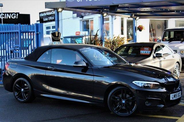 2015 51 BMW 2 SERIES 2.0 220D M SPORT 2d 188 BHP