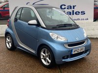 USED 2012 12 SMART FORTWO 1.0 PULSE MHD 2d 71 BHP