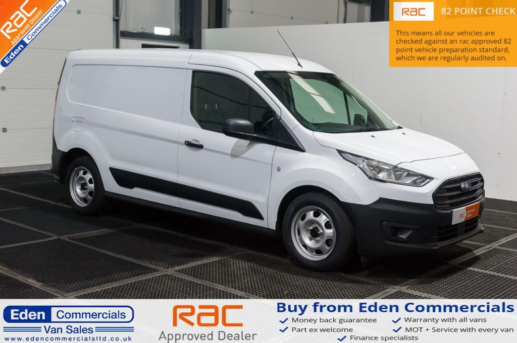 USED 2018 68 FORD TRANSIT CONNECT 1.5 210 BASE TDCI 100 BHP FORD WARRANTY UNTIL JAN 2022!