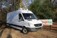 USED 2012 62 MERCEDES-BENZ SPRINTER 2.1 313 CDI XLWB FRIDGE FREEZER WITH STAND BY PLUG Fridge Freezer Van With Overnight Stand By Plug